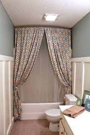 tie back shower curtains teawingco shower curtain with valance tieback contemporary