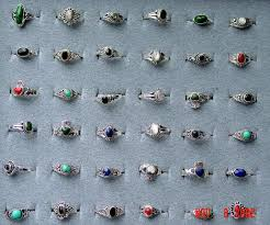 small stone rings images Wholesale sterling silver jewelry with genuine stones wholesale jpg