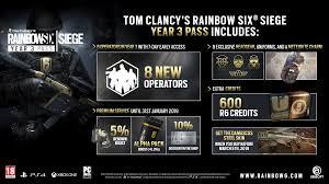 siege generali rainbow six siege year 3 season pass supporto clienti ubisoft