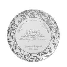 wedding anniversary plates personalized bone china commemorative plate for a 60th wedding
