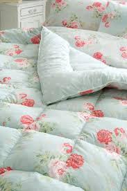 Antique Rose Comforter Set Cath Kidston Antique Rose Duck Egg Blue Eiderdown Crochet