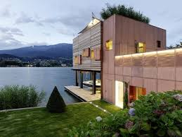 modern hillside house small cabin lake pics on fascinating small