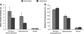 The Blind Spot In The Eye Characteristics Of The Filled In Surface At The Blind Spot