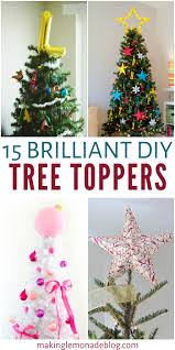 tree toppers 15 brilliant diy tree toppers lemonade