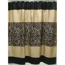 zebra shower curtain the shoppers guide sherry kline zuma shower curtain