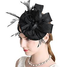 hair accessories for women women fascinator hat bridal feather hair clip accessories