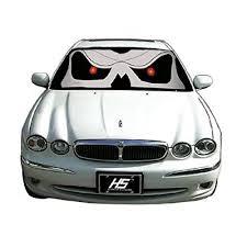 skull car accessories amazon com