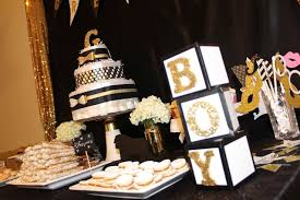 black and gold baby shower ideas pictures to pin on pinterest