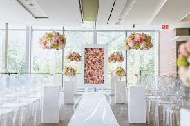 wedding backdrop toronto pink floral wedding royal conservatory of toronto wedding