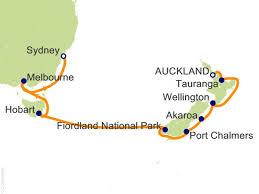 auckland australia map 13 australia and new zealand cruise on majestic princess