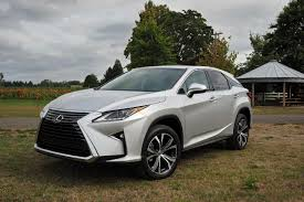 silver lexus 2016 lexus rx 350 and 450h first look more style space and