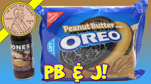 peanut butter oreo cookies with peanut butter u0026 jelly soda youtube