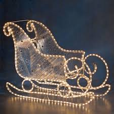 santa sleighs for sale konstsmide ropelight 3d outdoor santa