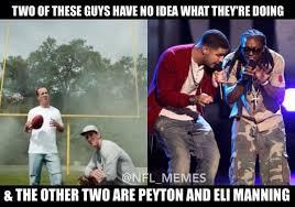 Lil Wayne Be Like Memes - nfl memes on twitter eli peyton drake lil wayne http t