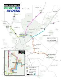 Marta Station Map New Xpress Bus Routes Won U0027t Overlap With Cobb Brt Proposal Wabe