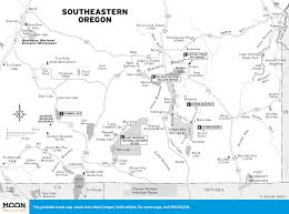 Southeastern Usa Map by Travel Maps Of Oregon Moon Travel Guides
