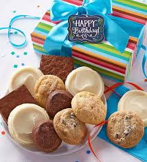mail order christmas gifts gluten free birthday cookie brownie gift box from cheryls