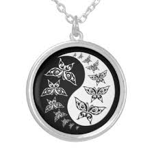 i ching hexagram 48 ching the well silver plated necklace