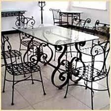 wrought iron dining table set in behala kolkata manufacturer