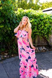 Lilly Pulitzer Baby Clothes Lilly Pulitzer Summer Maxi Dress Have Need Want