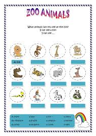 zoo animals worksheets free worksheets library download and