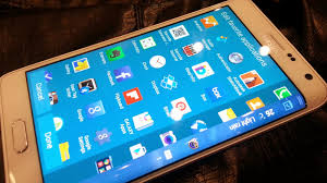wallpaper for note edge screen apps and gadgets pre orders now being accepted for the samsung