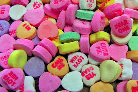 valentines heart candy sayings big garden pantry raid 10 s candy