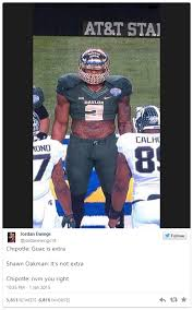 Shawn Meme - image 892000 shawn oakman tweets know your meme