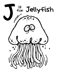free coloring pages jellyfish jellyfish coloring page pages preschool animal of arilitv com