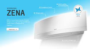 daikin zena split system heat pump air conditioning1 jpg