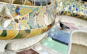 Serpentine Bench Gaudi U0027s Barcelona Spain Europe World Travel Smh Com Au