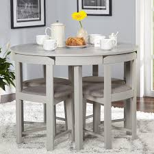 Dining Room Sets For Small Spaces by Simple Living 5 Piece Tobey Compact Dining Set Grey Simple