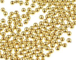 100 gold 4mm gold gold plated