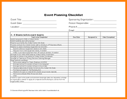 Event Planning Checklist Template Excel 4 Event Planning Checklist Excel Packaging Clerks
