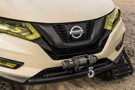 nissan rogue front bumper 2017 nissan rogue trail warrior project makes tracks in new york