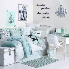 chambres ado fille chambre turquoise et blanc idées de décoration capreol us