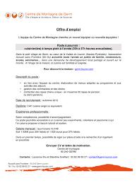 offre cuisine offre d emploi cuisine doc par franck morinière offre d emploi