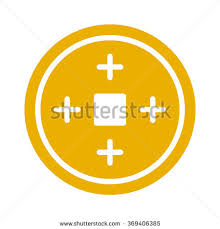 new year coin new year fortune coin stock vector 369406385