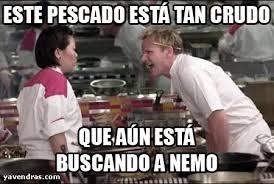 Chef Meme Generator - este pescado está tan crudo xdxdxdxdxddddd pinterest memes and