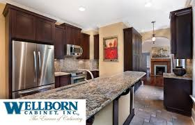 bathroom kitchen design with wellborn cabinets with sink and