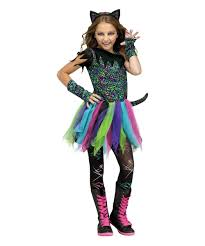 gurls halloween costumes wild rainbow cat girls costume girls costume