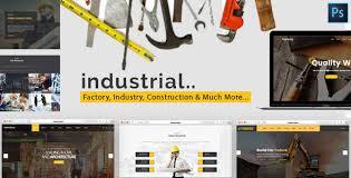 themeforest u2013 industrial u2013 factory industry u0026 construction html