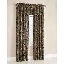 Camo Shower Curtain Mossy Oak Break Up Infinity Camouflage Print Window Curtain Panels
