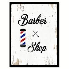 barber shop quote saying gift ideas home decor wall art 111462