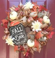 655 best wreaths images on burlap wreaths