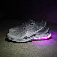 light pink nike air max led light up sneakers light up shoes for adults custom nikes