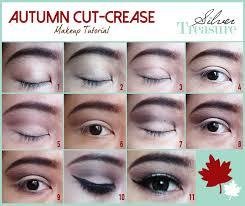 tutorial makeup natural wisuda fotd autumn cut crease makeup tutorial silver treasure beauty