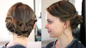 cute updos medium length hair cute easy hairstyles for medium hair