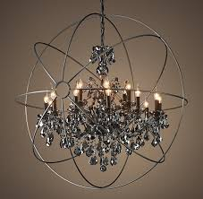 Crystal Sphere Chandelier Chandelier Inspiring Sphere Chandelier With Crystals Classy Orb