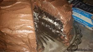 hersheys chocolate cake with cream cheese filling u0026 chocolate
